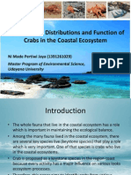 The Behavior, Distributions and Function of Crabs