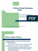 Great Business Plans