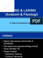 7. Anatomi Faring Dan Laring [Dr. Maria]