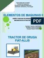 Analisis mecanismo tractor Ellis