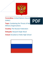 Russia UNSC Position Paper