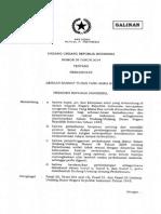 Undang-Undang Nomor 39 Tahun 2014 tentang Perkebunan