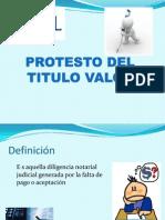 Protesto Del Titulo Valor