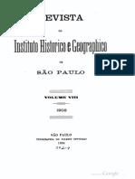 Da Evolução Histórica do Vocabulário Geogáphico no Brazil