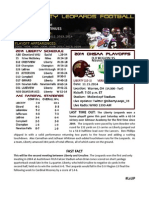 Liberty (10-1) vs Ursuline (7-4) Game Notes