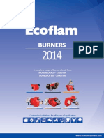 Ecoflam Burners 2014 en