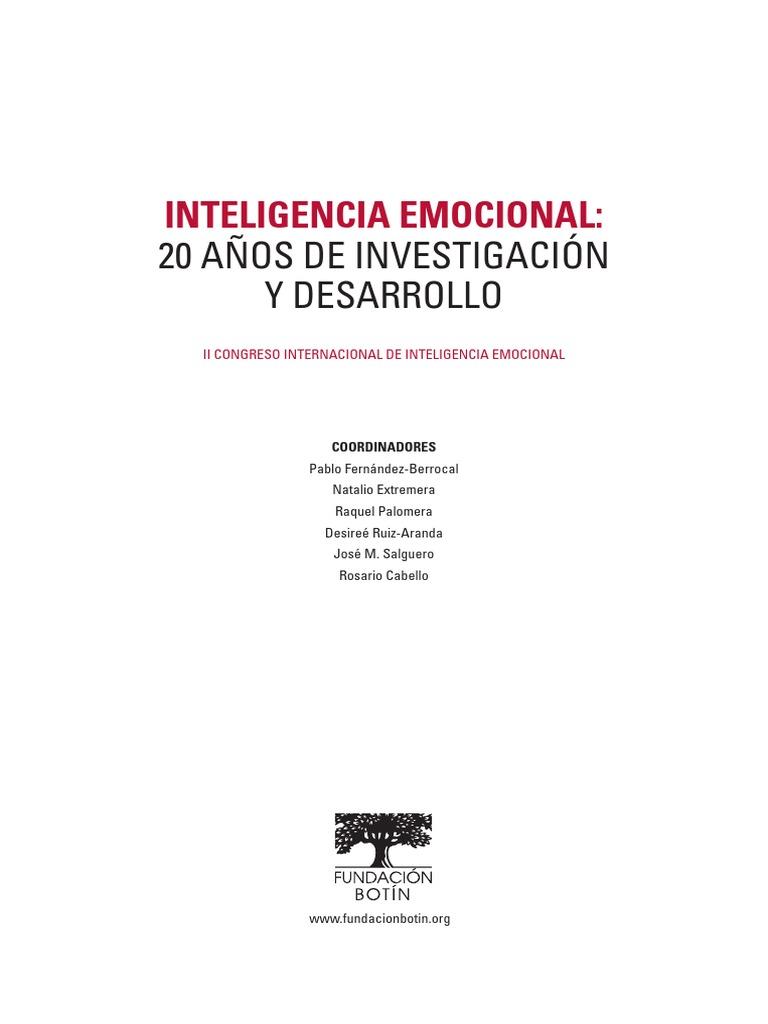 Desarrolla Tu Inteligencia Emocional Pablo Fernandez Berrocal Ebook Download