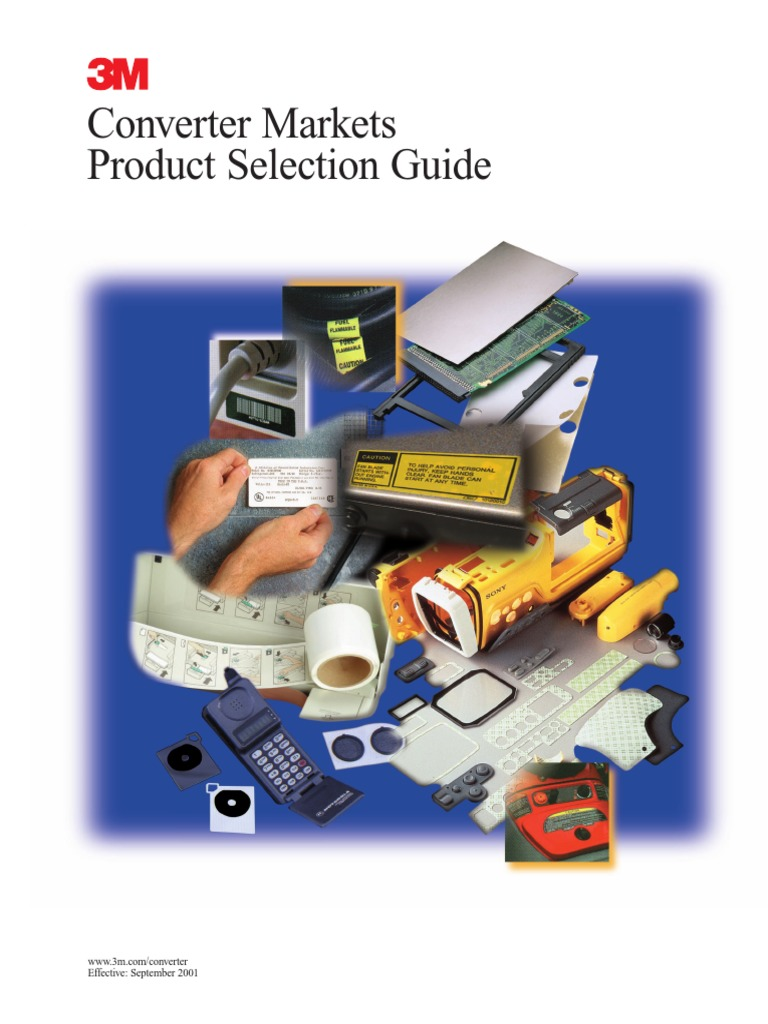 3M Adhesive Material Selection Guide | Adhesive | Poly