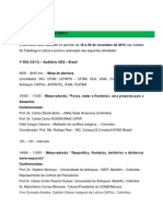 III Seminario Internacional sobre Pueblos Tradicionales, Fronteras y Geopolítica en América Latina