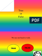 True or False PPT