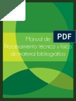 Manual de Procesamiento Tecnico