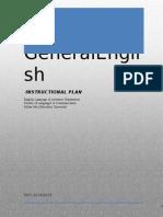 Instructional Plan GE BIU 3013 Sem 1