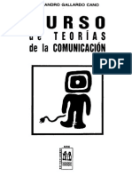 Gallardo Cano Alejandro Curso de Teorias de La Comunicacion Cv