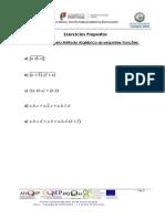 2 - Simplificação de Funções e Mapas de Karnaught