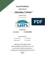 Aida Jurnal Praktikum Viskositas Cairan-libre