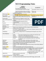 ASP NET Programming Notes