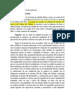 40-2011 - Acogida (UJ). Medidas No Deben Ser Exageradas