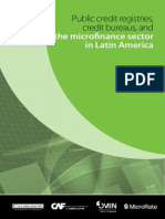 Public credit registries, credit bureaus, and the micronance sector in Latin America