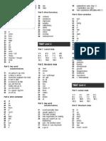 FCE - Fast Track to FCE Tests - Key