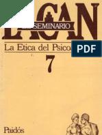 Lacan - Seminario-7- La Ética Del Psicoanálisis Paidós