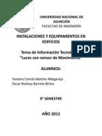 Instalaciones y Equipamiento de Edificios TP