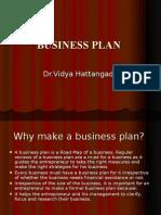 Business Plan by Dr.Vidya Hattangadi