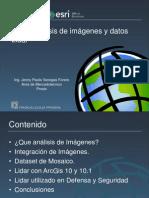 Uso y Análisis de Imágenes y Datos Lidar -Prosis25agos