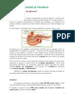 Este artículo trata sobre el cáncer de páncreas.