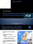 Reactive Magnetron Sputtering Technology for Industrial Large Area Processing
