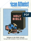 American Atheist Magazine Feb 1990