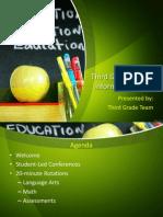 parent info night presentation 1