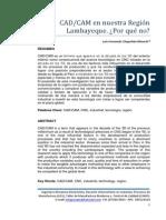 CAD/CAM en la Región Lambayeque