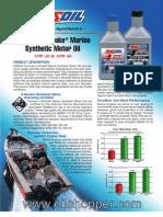 4-Stroke Marine Synthetic Motor Oil - AMSOIL