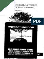 Braunstein, Néstor - El Inconsciente, La Técnica y El Discurso Capitalista - Ed. Siglo XXI