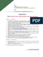 Referat Utilizarea Datelor Cadastrale Grafice Si Textuale 2013-2014