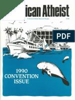 American Atheist Magazine June 1990