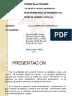 ESTUDIO DE CANTERAS