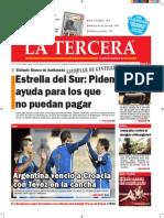 Diario La Tercera 13.11.2014