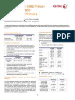 Customer Expectation Document - Xerox Phaser 6600