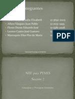 NIIF PYMES Sección 2 Conceptos y Principios Generales