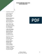 Poezii Serbare Iarna