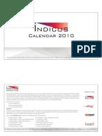 Indicus Calender 2010