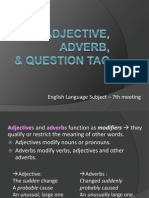 7-Adjective and Adverbs