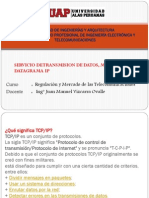 TX de Datos Mediante Datagrama IP