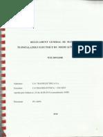 Regulament Gneral de Manevre in Instalatiile Electrice de Medie Si Inalta Tensiune