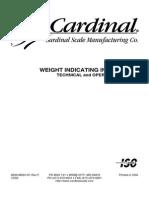 Cardinal 205 y 210 Manual