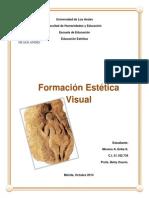 Formacion Estetica Visual.primera Categoria. Trabajo Singular.