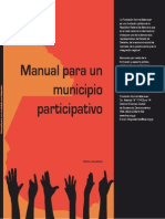 Manual para un municipio participativo