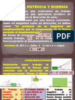 Trabajo, Potencia y EnergÃ-A