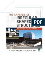 Analysis of Irregular Shaped Structures